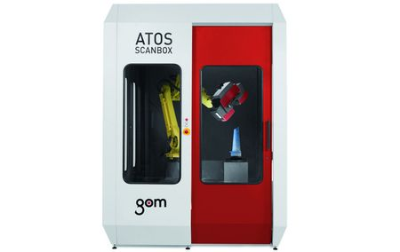 Automated 3D scanner, ATOS ScanBox 5108