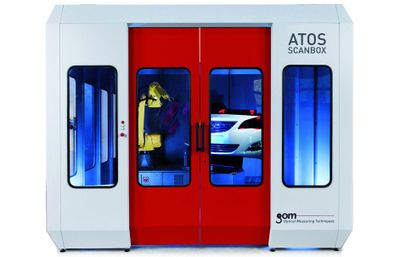 Automated 3D scanner, ATOS ScanBox 5120